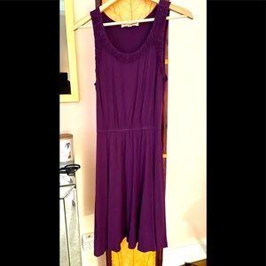 Comfy Cool Purple Summer Dress M